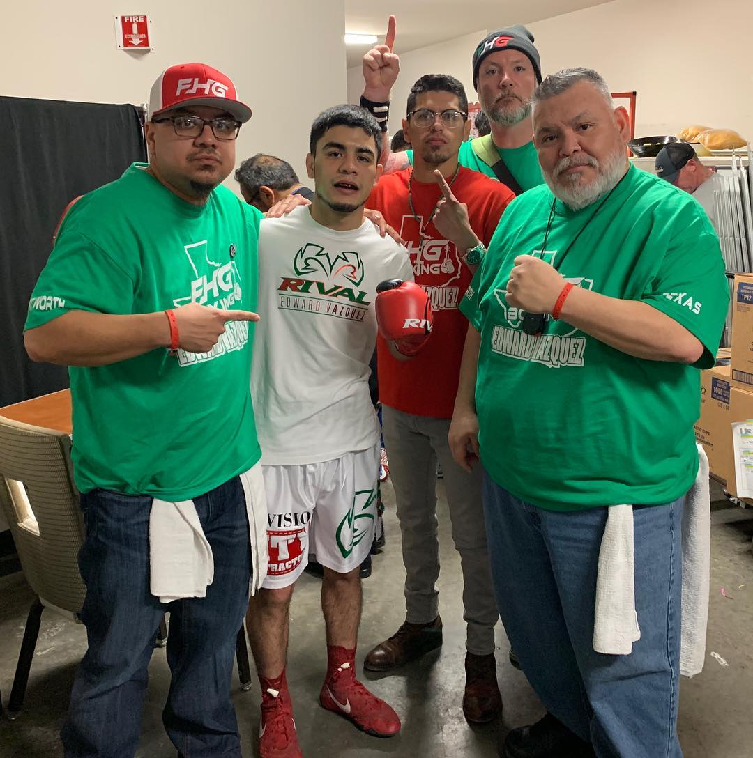 Image result for Edward Vazquez FHG Boxing