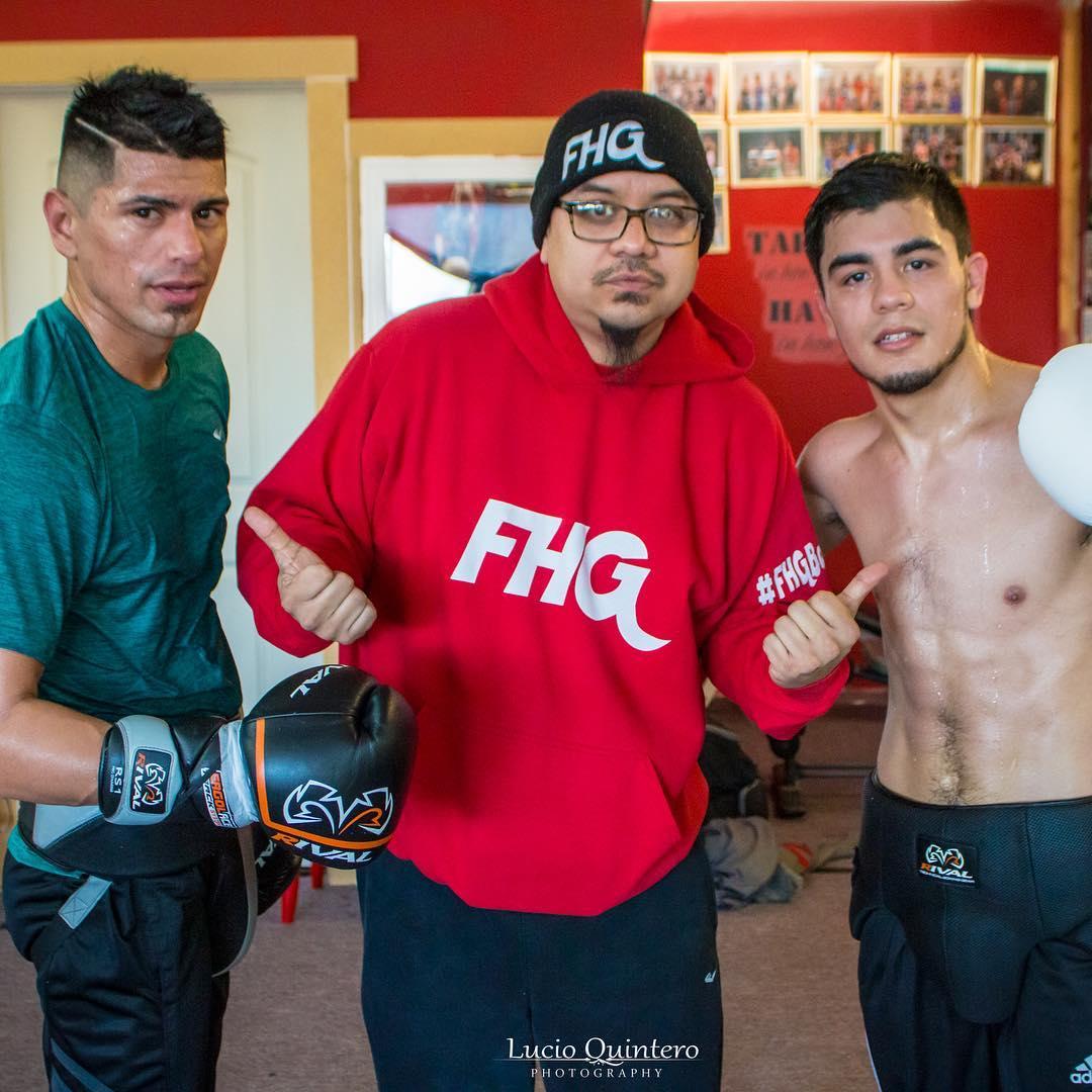 Image result for Edward Vazquez FHG Boxing
