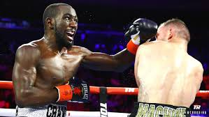 Terence Crawford stops Egidijus Kavaliauskas after shaky start to ...